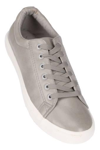 ALLEN SOLLY -  Grey Casual Shoes - Main