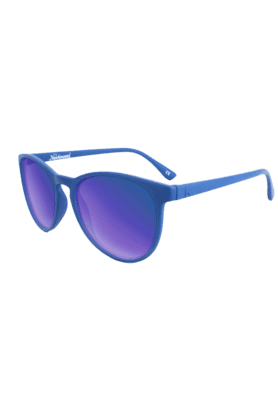 KNOCKAROUND Mai Tais Unisex SunglassesDenim Blue/Moonshine-MTGL1007 (Use Code FB20 To Get 20% Off On Purchase Of Rs.1800)