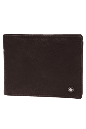 LOUIS PHILIPPE Mens Brown Leather Wallet