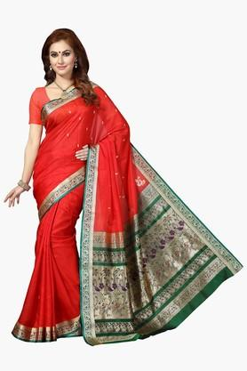 ISHINWomen Silk Woven Saree With Rich Pallu - 201952448