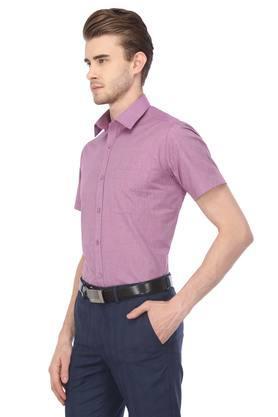 STOP - VioletFormal Shirts - 2