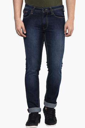 Wilsty Jeans (Men's) - Mens 5 Pocket Mild Wash Jeans