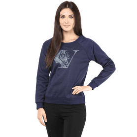 THE VANCA Women Winter Sweatshirt - 200344394