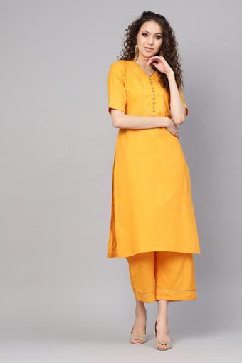 GERUA -  YellowSalwar & Churidar Suits - Main
