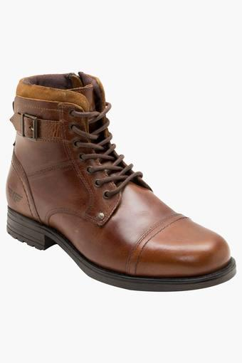 RED TAPE -  Brown Boots - Main