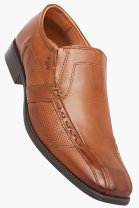 VENTURINI Mens Leather Slipon Loafers - 202109255