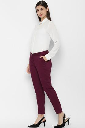 ALLEN SOLLY - Pink Trousers & Pants - 2