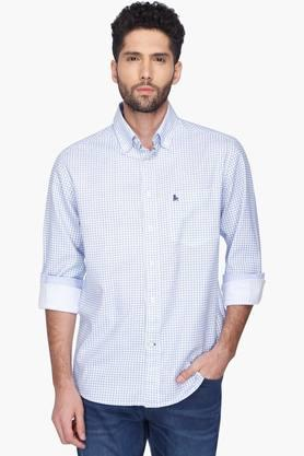 Z3 Formal Shirts (Men's) - Mens Printed Button Down Collar Shirt