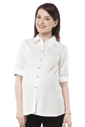 NINE MATERNITY Maternity Nursing Shirt