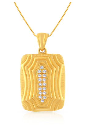 MALABAR GOLD AND DIAMONDS Womens Malabar Gold Pendant - 201593913