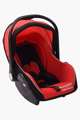 Baby Car Seat Cum Carry Cot-Red