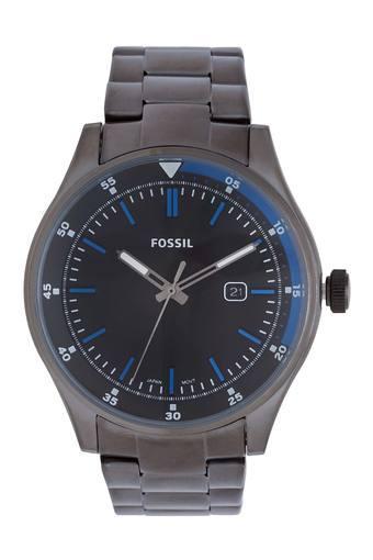 Mens Black Dial Metallic Analogue Watch - FS5532I