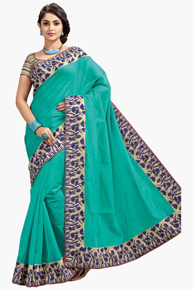 ASHIKA Womens Chanderi Silk Saree