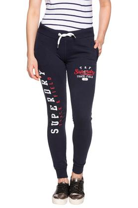 Womens 2 Pocket Graphic Print Joggers