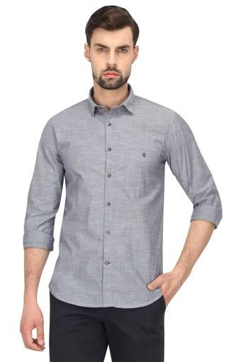 LOUIS PHILIPPE SPORTS -  Light Grey Shirts - Main
