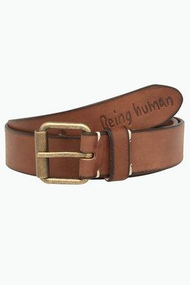 BEING HUMAN Mens Casual Leather Belt - 201741708