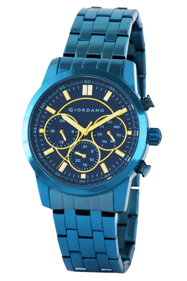 Phantom 1 Blue Dial Mens Watch - 1725-88