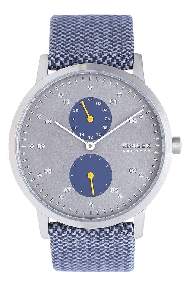 Mens Grey Dial Analogue Watch - SKW6524I