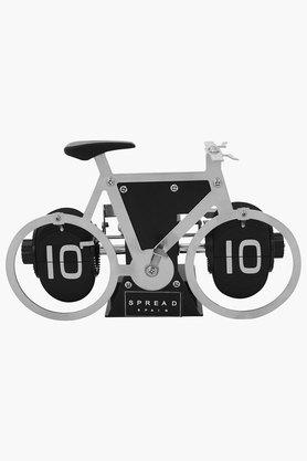 Bicycle Shape Flip Table Clock