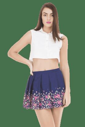 IDKWomens Georgette Skirt