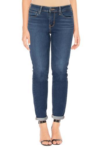 LEVIS -  Mid Blue Jeans & Leggings - Main