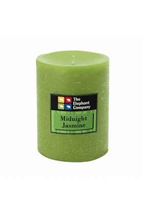 THE ELEPHANT COMPANY Pillar Candles - Scented Jasmine