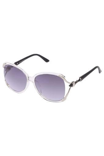 Womens Full Rim Oversized Sunglasses - GA90227C05