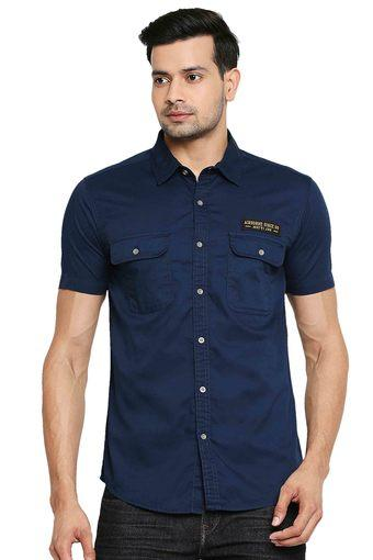 MUFTI -  BlueCasual Shirts - Main