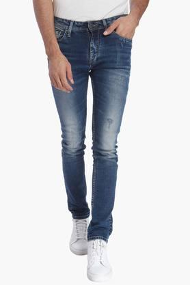 JACK AND JONES Mens 5 Pocket Stretch Jeans (Ben Fit) - 201415689