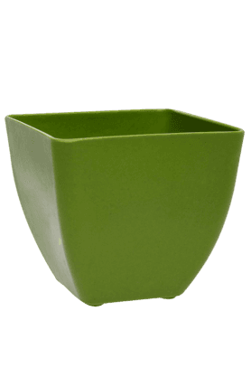 BACK TO EARTH Square Bamboo Planter
