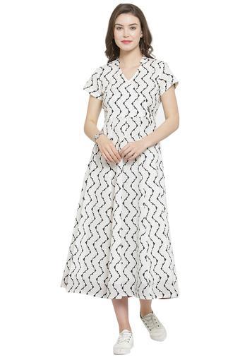 VARANGA -  WhiteIndianwear Dresses - Main