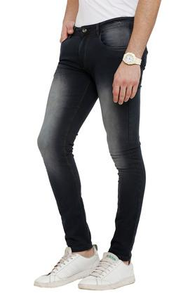 Mens Ice Wash Jeans