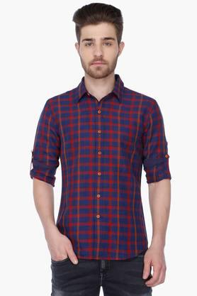 Levis Ladies Formal Shirts (Men's) - Mens Full Sleeves Casual Check Shirt