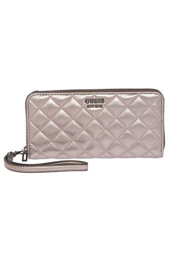 GUESS -  Pewter Wallets & Clutches - Main