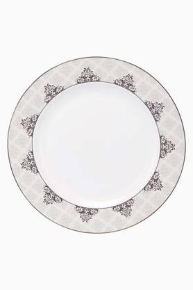 Round Printed Vertex Dinner Plate