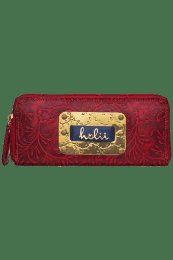 Womens Flamenco Zip Around Wallet