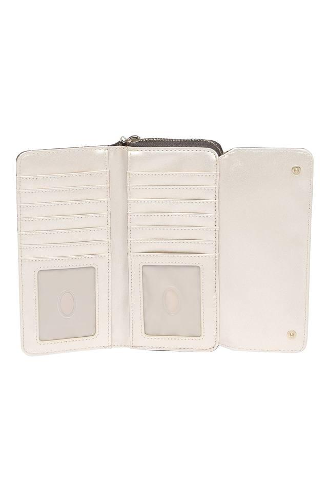 Womens Casual Wear Zip Closure 2 Fold Wallet