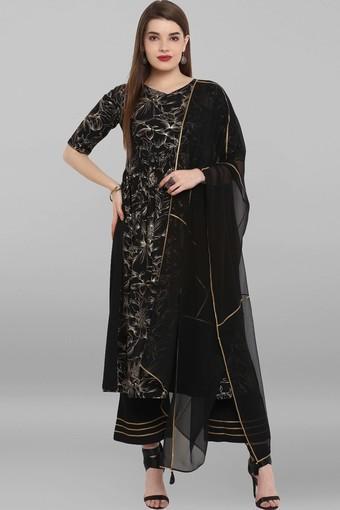 JANASYA -  BlackIndianwear Sets - Main