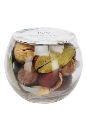 Conifer Charm Scented Potpourri in Spherical Vase