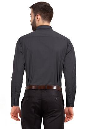 STOP - CharcoalFormal Shirts - 1