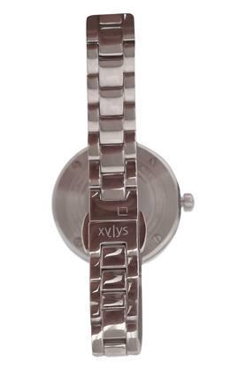 Womens Grey Dial Metallic Analogue Watch - 45014KD03E
