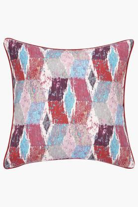 Polyester Geometric Cushion Cover