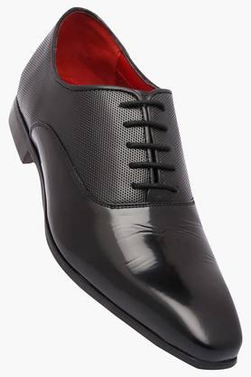 RUOSHMens Leather Lace Up Oxford Shoes - 202640669