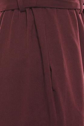 MSTAKEN - BurgundyTrousers & Pants - 4