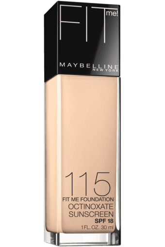 New York Fit Me! Foundation (Shop for Rs. 999 or above and get Rs. 150 off)