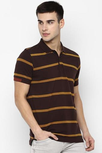 ALLEN SOLLY -  ChocolateT-Shirts & Polos - Main