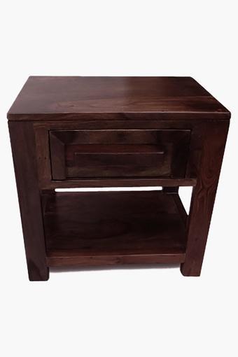 Walnut Bed Side Table