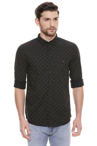 LOUIS PHILIPPE JEANS -  BlackCasual Shirts - Main