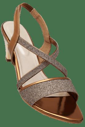 HAUTE CURRYWomens Party Wear Slipon Heel Sandal - 200619666