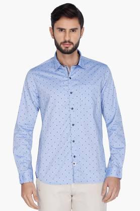 Numero Uno Formal Shirts (Men's) - Mens Full Sleeves Casual Printed Shirt